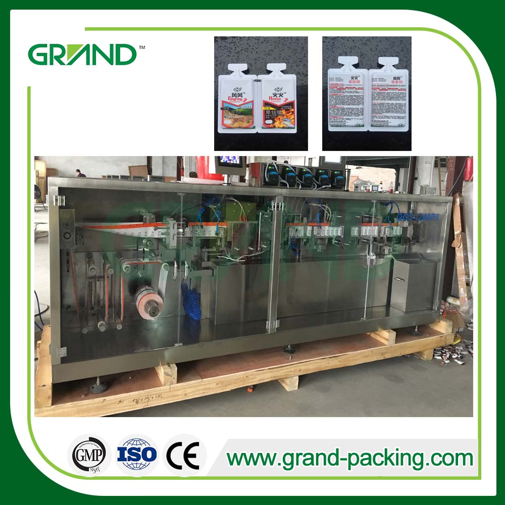 liquid full automatic tube plastic ampoule forming filling sealing machine