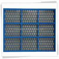 Hangli shale shaker screen/oil vibrating sieving mesh/sand screen mesh