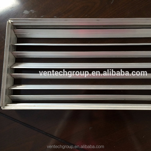 manual air duct damper for air grille oppose blade damper