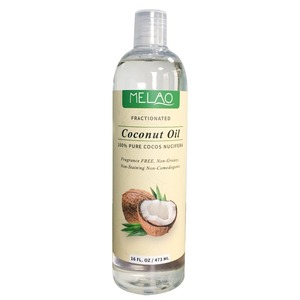 Beauty Fractionated Bulk Coconut Oil and 100% Pure Organic Carrier and Base Oil for Aromatherapy and hair with Best Price