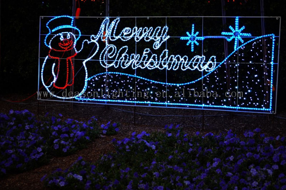 Led Lighted Merry Christmas Sign - Buy Merry Christmas ...