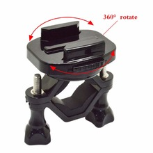 Gopros Accessories 360 Degree Rotate Bike Motorcycle Stand Mount With Mini Tripod for Gopros6/5 another sport cameras