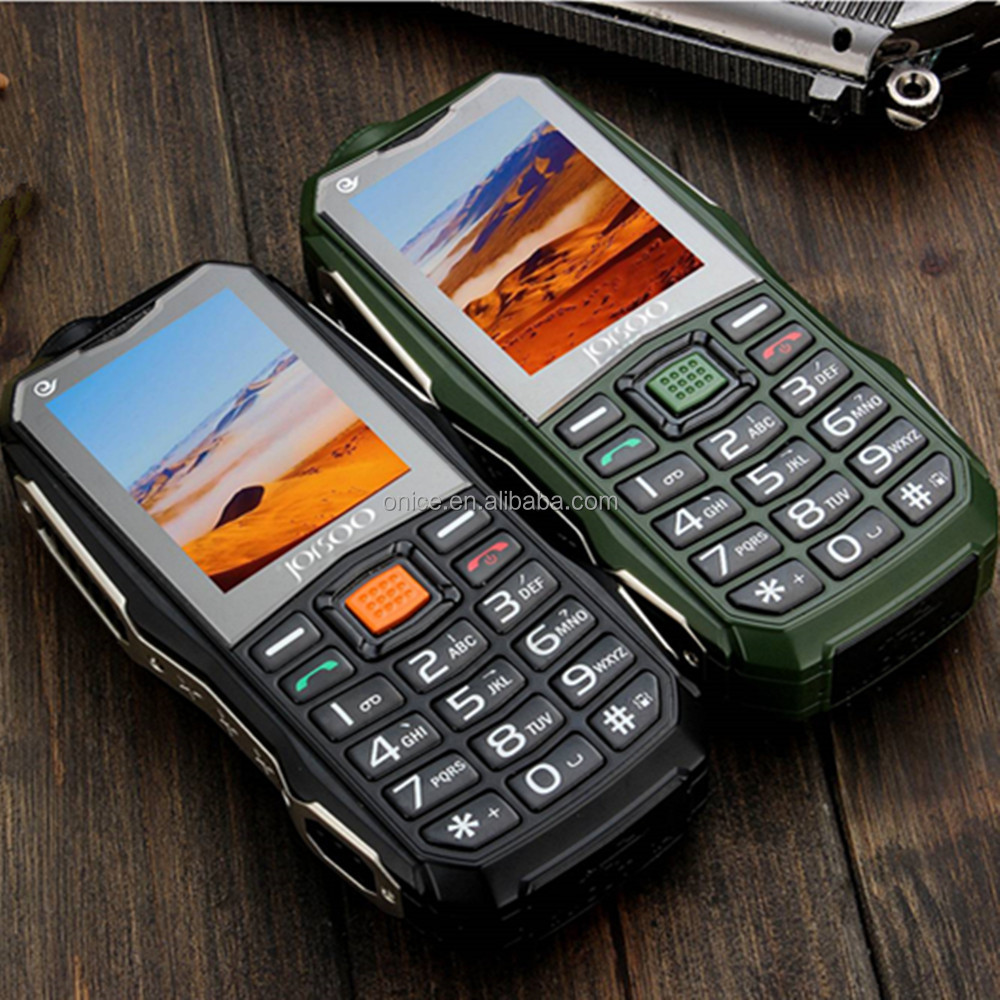 The best quality C18 waterproof dust-proof shock-proof bar mobile with big battery capacity dual SIM car phone