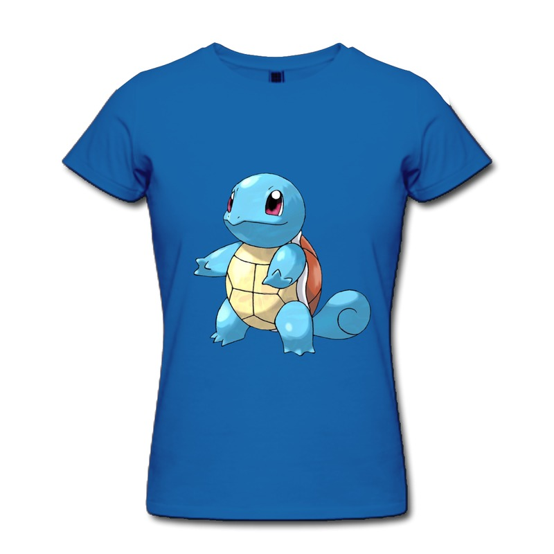 girl with squirtle shirt flash