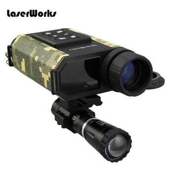 Multi functional 6X32 Night Visions Infrared IR Monocular Scope Laser Ranger