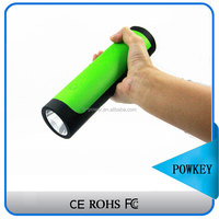 Torch like model 8400mAh Ultra-Portable Jump Starter/Power Bank with ABS Rubber Case, thin car jump start emergency charger jump