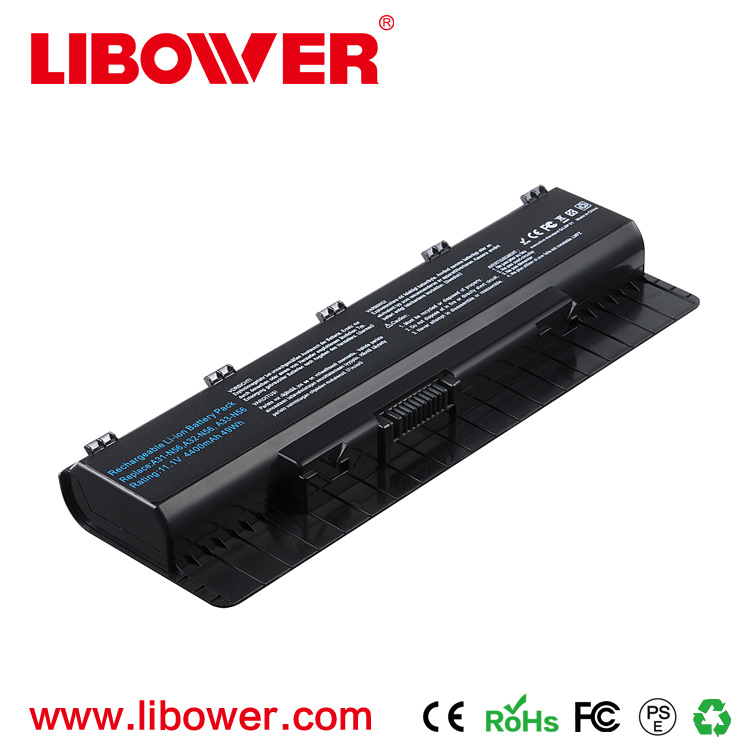 Libower Wholesale Original new laptop battery replacement for ASUS notebook A32-N56 12 Months warranty