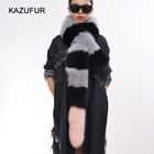 KZ160148 Ladies Favorite winter fur scarf fox