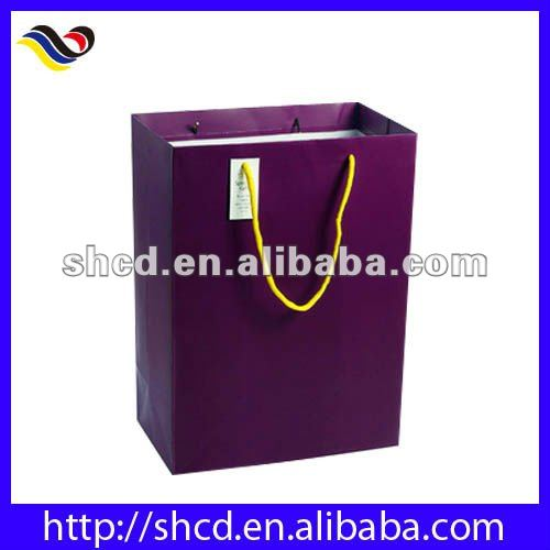 purple caidi Paper Gift Bag