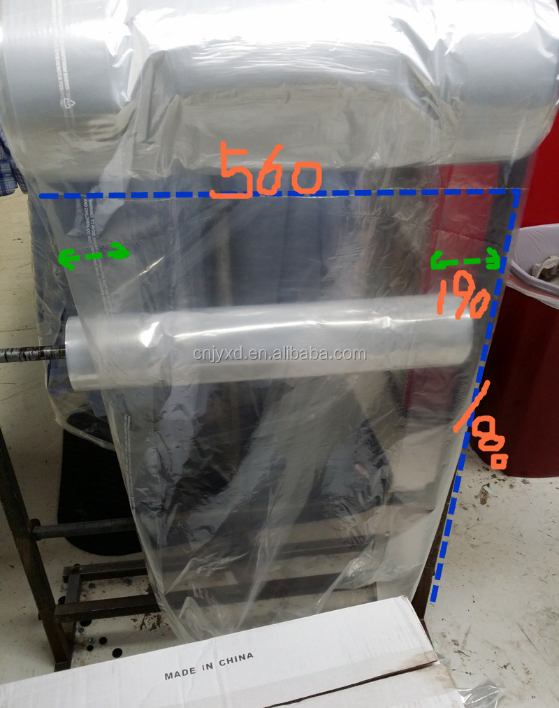 Low Density Plastic garment bag in rolls