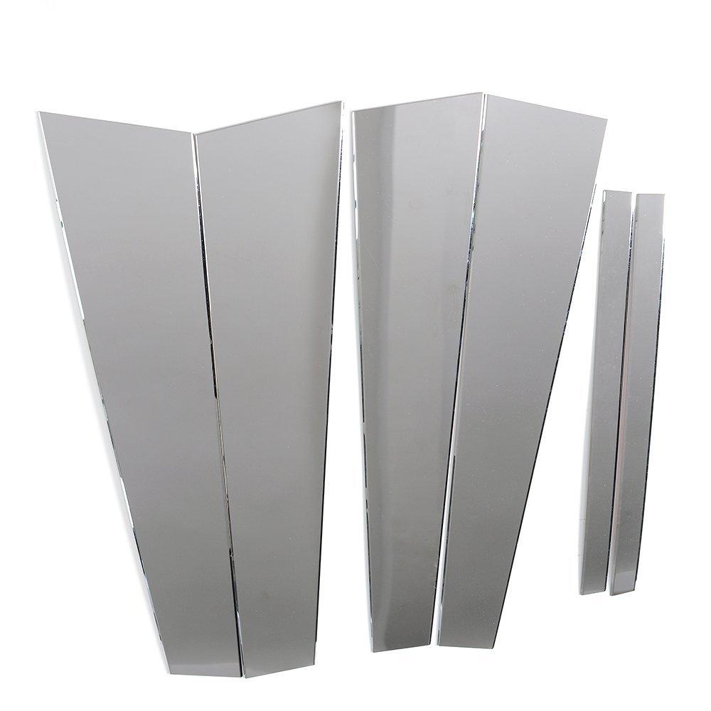 Stainless Steel Pillar Post Chrome Trim 4PC For Nissan Maxima 1995-1999