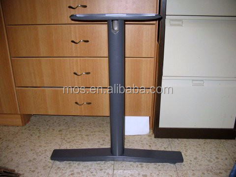 Epoxy Powder Coated Easy Assembly Steel Conference Table Legs