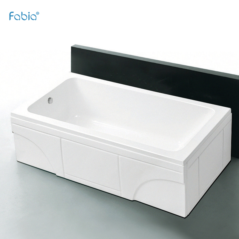 Foshan comfortable steel frame enamel FY3009 bathtub for crapper spa bath