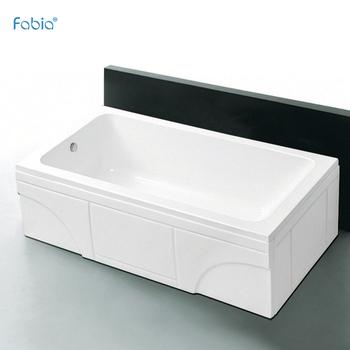 Foshan Cómodo Marco De Acero Bañera Esmalte Para Cagadero Spa Baño ...