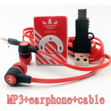 2016 new hot Sale Mini Clip MP3 Music Players Support TF Card With Earphone and  Mini USB