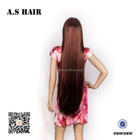 Cosplay Wig Anime Wig brown Long Straight Hair Wigs Heat Resistant High quality Straight Hair With Bangs Cosplay Synthetic Hair