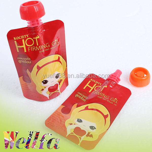 Reusable Baby Food Pouch Liquid Diet Stand Up Baby Pouch With Spout