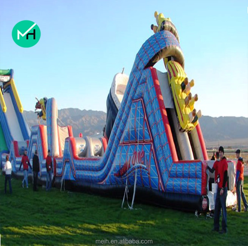 high quality Inflatable air castle bouncing castle