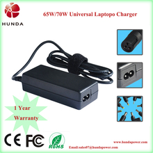 70W 100 240v 50 60hz IC power laptop adapters for Toshiba core computer