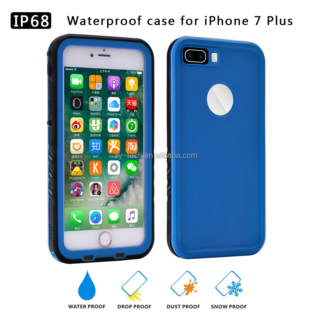Elegant full sealed dirty proof drop proof water proof case for iphone 7 plus