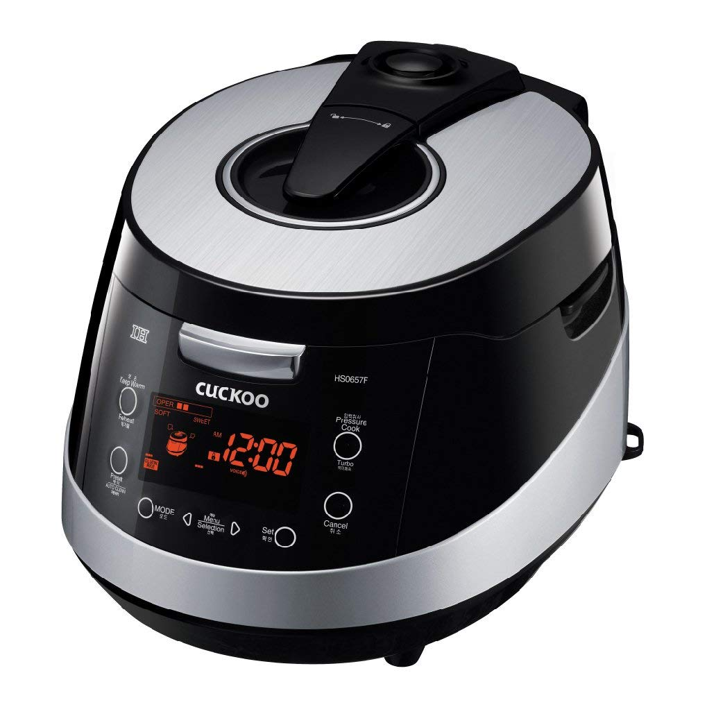 Cuckoo CRP-HS0657F 6 Cup Induction Heating Electric Pressure Rice Cooker