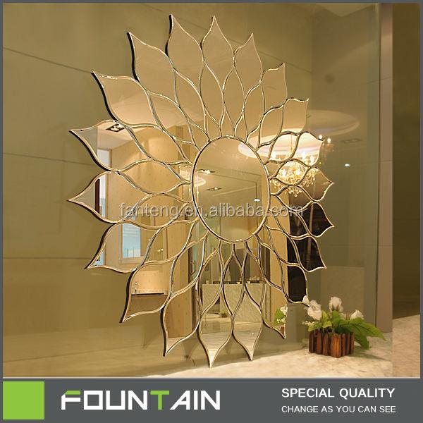 blume form indien hei er verkauf bad spiegel wohnzimmer dekoration wandspiegel badspiegel. Black Bedroom Furniture Sets. Home Design Ideas