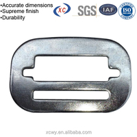 Custom stamped metal seat belt buckle safety buckle