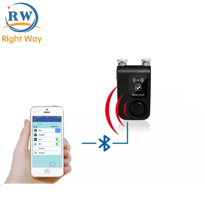 Bluetooth Smart Door Lock Bicycle Lock With Mobile APP for IOS and Android System