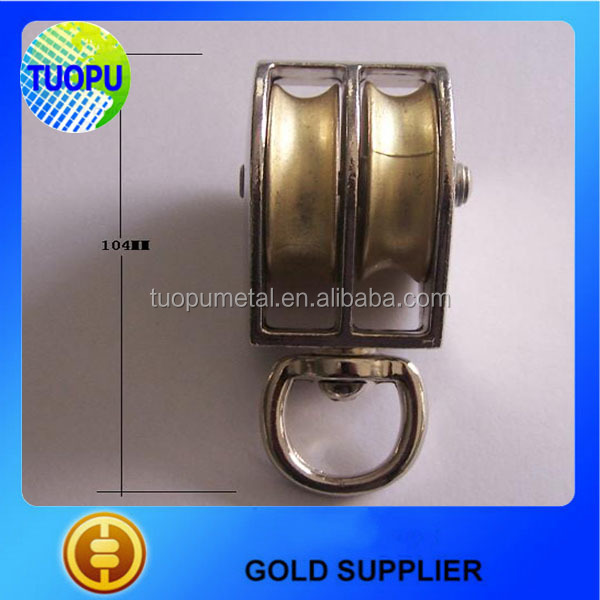 Tuopu brass pulleys small rope pulleys rope pulleys for sale