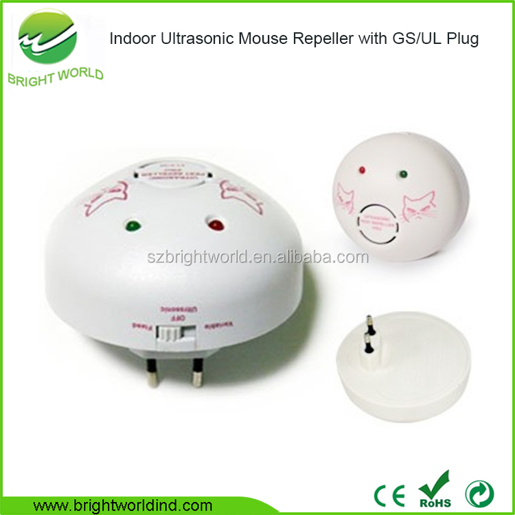 Hot Sale & High Quality Pest Offense Ultrasonic Electronic Mouse Repellent, Mouse Chaser, Mouse Repeller for Indoor Use