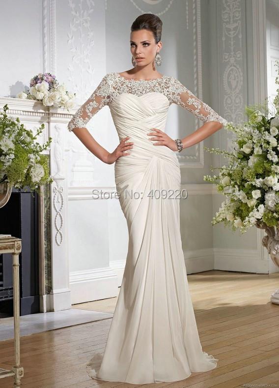 Bridal Gowns Simple But Elegant