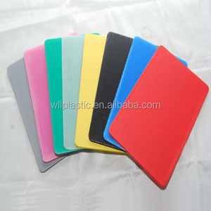 Recycle Colored PP Hollow/Correx//Corrugated Plastic Sheet