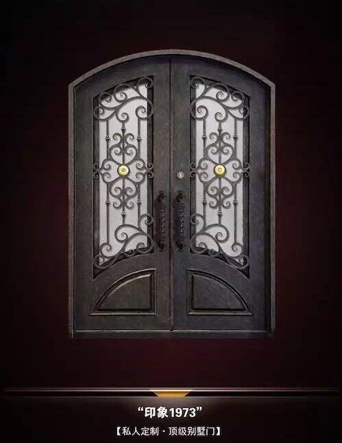 Factory Supplier Wholesale Iron Front Doors Garden Gate Design ...