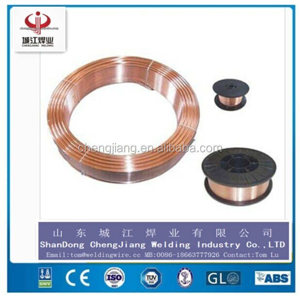 AWS ER70S-6 solid SG2 WELDING WIRE MIG strength of extension 500MPA