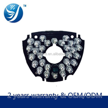 Safety and security tools camera accessories 36-led illuminated sets led outdoor ahd camera ir pcb board