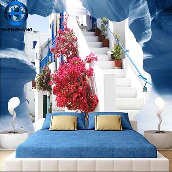 Bedroom 3d wallpaper good home 3d wall decoration china for 3d wallpaper for home decoration