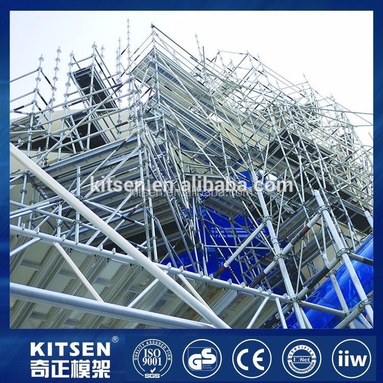 Bridge Ring Multidirectional Scaffolding System For Construction Material