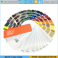 Ral Classic Colours K7 Color Guide Paint Color Chart