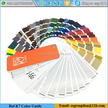 Ral Classic Colours K7 Color Guide Paint Color Chart Buy Paint