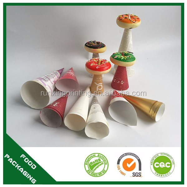 silicone ice cream cups with holder and logo