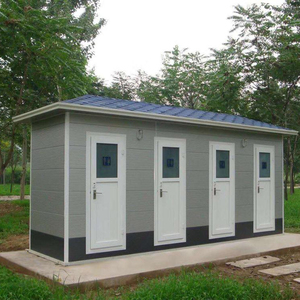 Prefab Container House Toilet Prefabricated Portable Toilet Mobile Camp Toilet