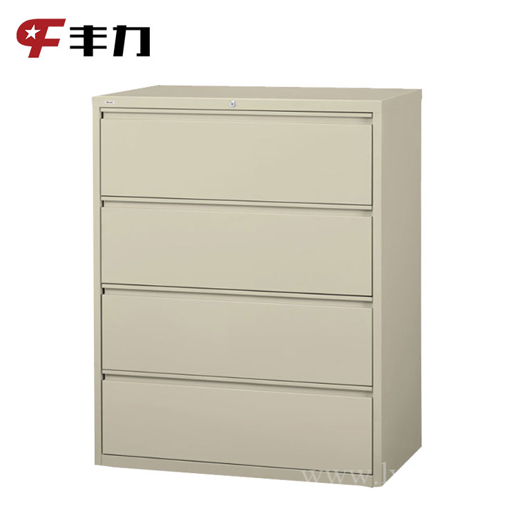 Steel Large 4 Drawers Filing Cabinet