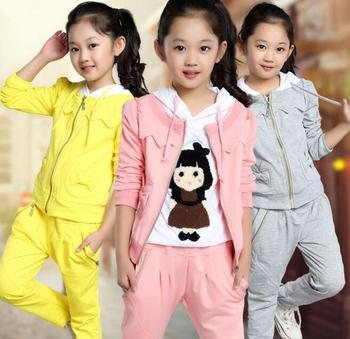 Z82628B online shopping wholesale china manufactures children clothes winter 3pcs set girls clothing