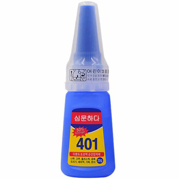 Multifunctional 401 Instant Adhesive 20g Super Strong Liquid Glue Home Office School Nail Glue Beauty Supplies For Wood Plastic