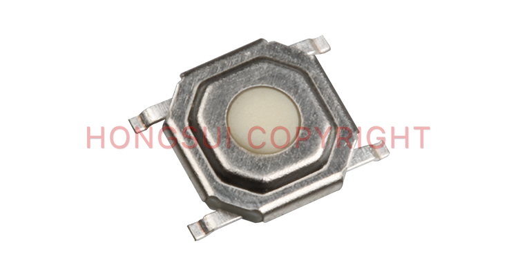 4pin 5.2*5.2 commutateur tactile smd commutateur tactile bouton poussoir