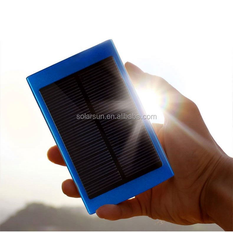LED Solar Lamp Power Bank Phone Charger Portable Outdoor Solar Dual USB Battery Charger External Backup Power Pack