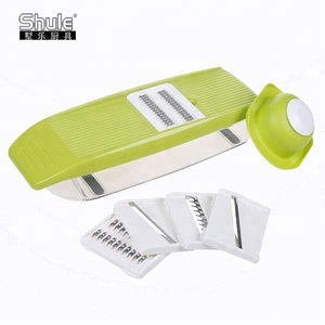 Manual 5 in 1 Food Grade Plastic Mandoline Chopper