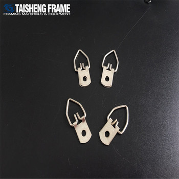 Tsk024 One Hole Frame Hanger Picture Frame Hanging Hook Thin D Ring ...