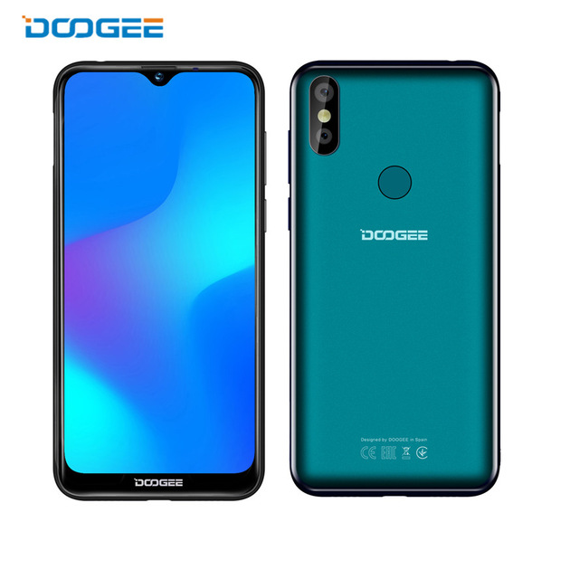 "2019 nieuwe Doogee Y8 Smartphone 6.1 ""FHD 19:9 Display 3400 mAh MTK6739 Quad Core 3 GB RAM 16 GB ROM Android 9.0 4G LTE Mobiele Telefoon"