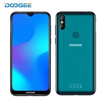 "2019 nuovo Doogee Y8 Smartphone 6.1 ""FHD 19:9 del Display 3400 mAh MTK6739 Quad Core 3 GB di RAM 16 GB ROM <span class=keywords><strong>Android</strong></span> 9.0 4G LTE Mobile Phone"